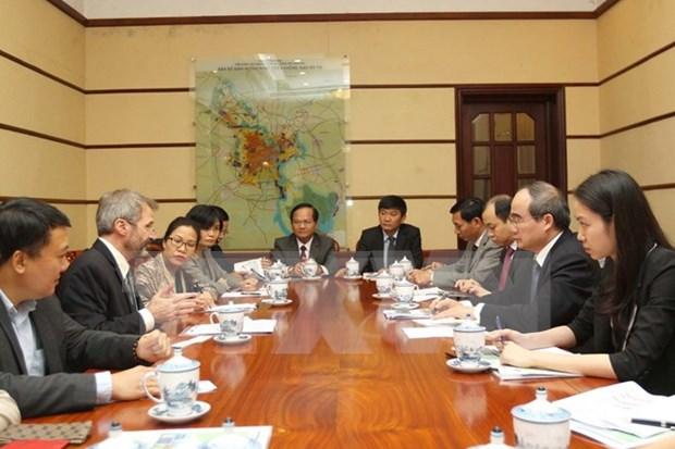 Ciudad Ho Chi Minh busca apoyo de IFC para desarrollo de infraestructura hinh anh 1