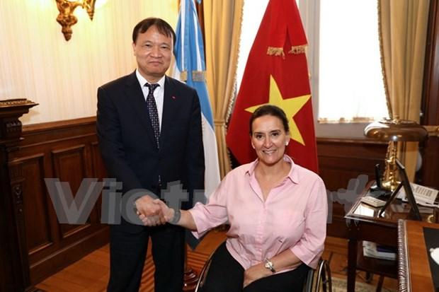 Vietnam y Argentina fortalecen las relaciones de cooperacion hinh anh 1