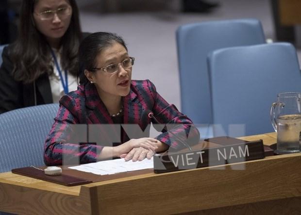 Vietnam participa activamente en operaciones de paz de ONU hinh anh 1
