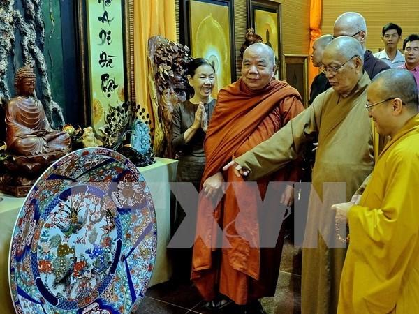 Inauguran exposicion sobre cultura budista en Ciudad Ho Chi Minh hinh anh 1