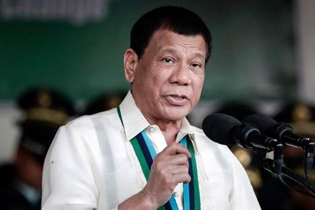 Presidente filipino inicia visita a Japon hinh anh 1