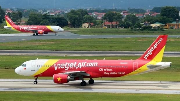Vietjet Air ingresa 131 millones de dolares en nueve meses de 2017 hinh anh 1