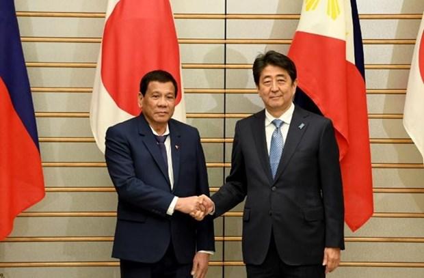 Japon y Filipinas cooperan en desarrollo infraestructural y lucha antiterrorista hinh anh 1
