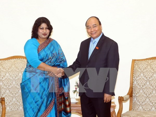 Vietnam desea impulsar lazos con Bangladesh hinh anh 1
