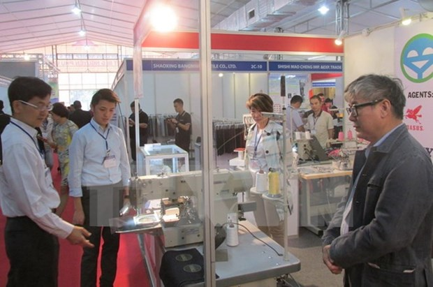 Unas 200 entidades foraneas participaran en Exposicion Internacional de industria textil en Hanoi hinh anh 1