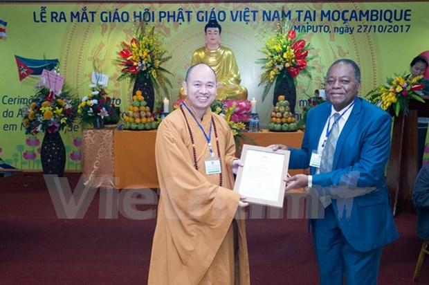 Estableceran primer centro budista vietnamita en Africa hinh anh 1
