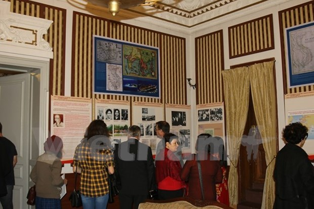 Celebran en Bulgaria exposicion fotografica sobre Ho Chi Minh hinh anh 1