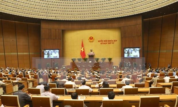 Parlamento vietnamita continua debates sobre asuntos socioeconomicos hinh anh 1
