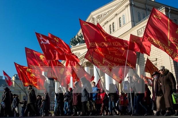 Celebran en Vietnam actividades conmemorativas por centenario de Revolucion de Octubre hinh anh 1