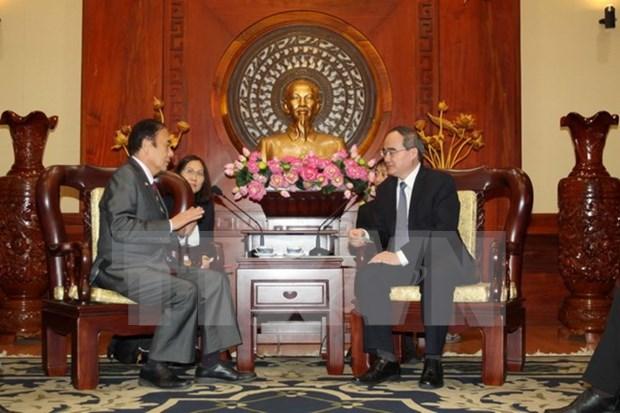 Ciudad Ho Chi Minh y Saitama (Japon) impulsan cooperacion en recursos humanos hinh anh 1