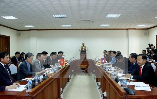 Sede del Parlamento de Laos, simbolo de amistad con Vietnam hinh anh 1