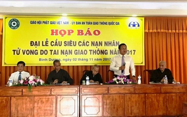 Realizaran en provincia sudvietnamita requiem por fallecidos en accidentes de transito hinh anh 1