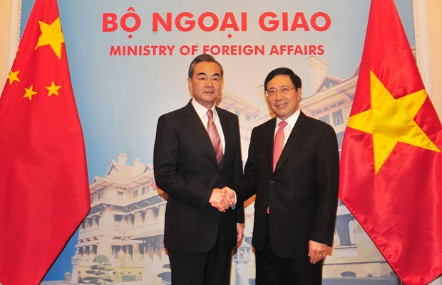 Fortalecen nexos entre Vietnam y China hinh anh 1