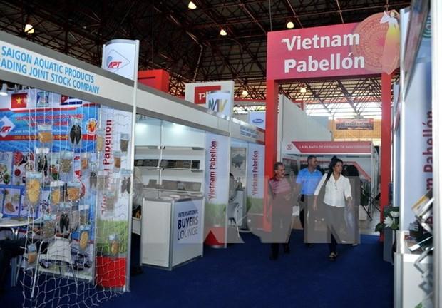 Destacan notable presencia vietnamita en FIHAV 2017 hinh anh 1