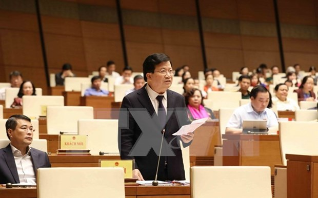 Vicepremier vietnamita rinde cuentas sobre la implementacion del plan de desarrollo socioeconomico hinh anh 1