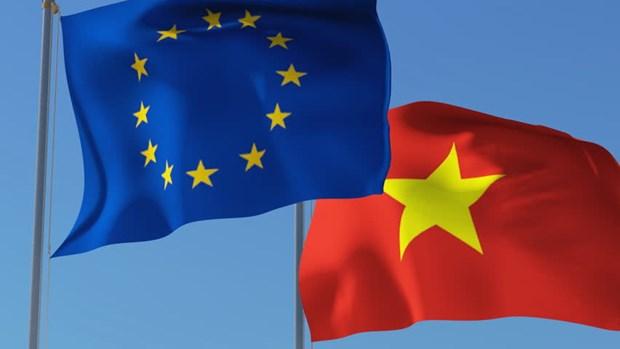 Vietnam se prepara para la entrada en vigencia del TLC con la UE hinh anh 1