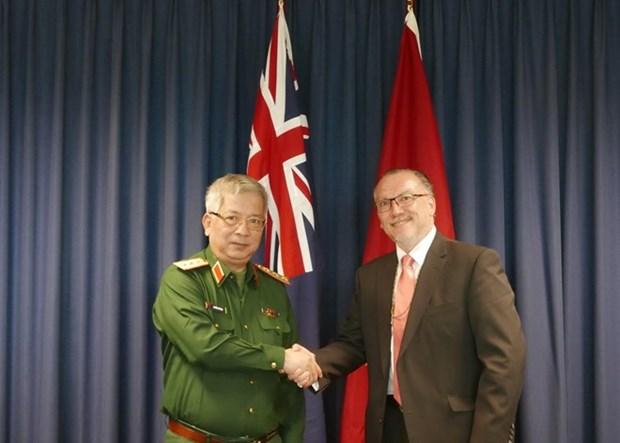 Realizan Vietnam y Australia primer dialogo de politica de defensa hinh anh 1