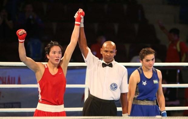 Celebran en Ciudad Ho Chi Minh Campeonato Asiatico de Boxeo 2017 hinh anh 1