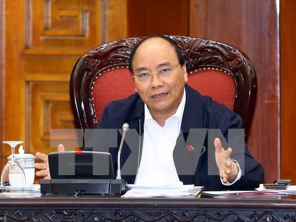 Premier vietnamita pide mejorar calidad de recursos humanos para industria 4.0 hinh anh 1
