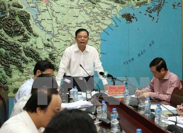Vietnam prepara medidas preventivas por tifon ante proximidad de Cumbre del APEC hinh anh 1