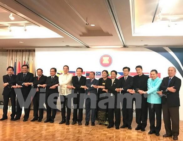 Celebran en Sudcorea aniversario 50 de fundacion de la ASEAN hinh anh 1