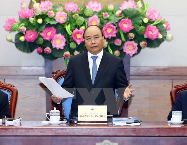 Premier vietnamita: Gobierno con cuatro principales tareas en el resto de 2017 hinh anh 1