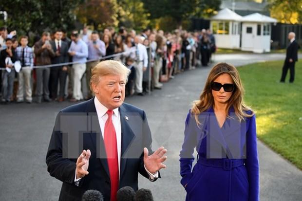 Prensa estadounidense destaca visita de Donald Trump a Vietnam hinh anh 1