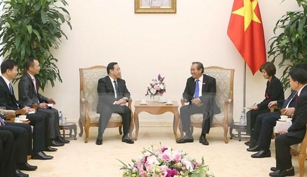 Resaltan avance de la cooperacion Vietnam- China en lucha contra delincuencia hinh anh 1