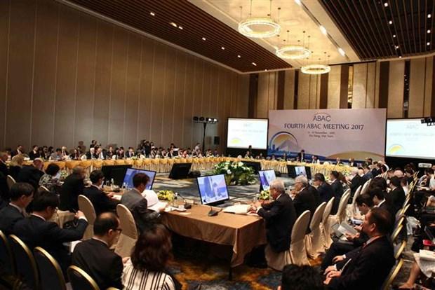 APEC 2017: Inauguran en Da Nang cuarta reunion de ABAC hinh anh 1