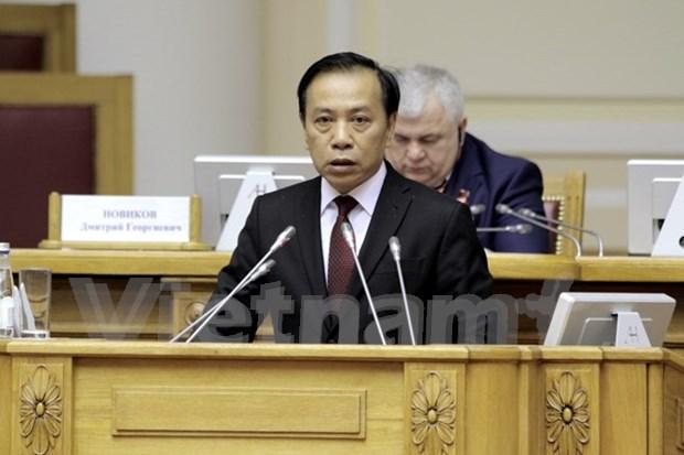 Vietnam resalta influencia de la Revolucion de Octubre en la pasada lucha por independencia nacional hinh anh 1