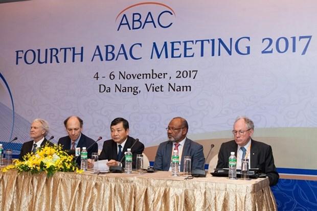 ABAC insta a lideres economicos del APEC a centrarse en reforma comercial hinh anh 1