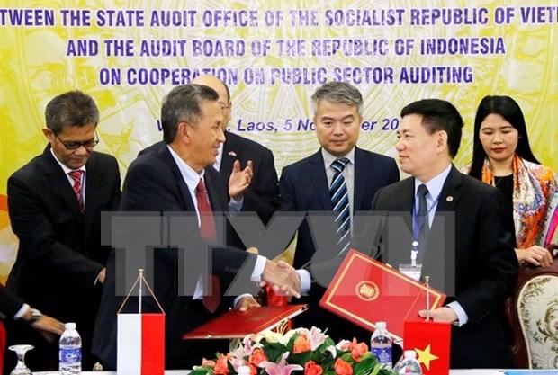 Vietnam e Indonesia impulsan cooperacion en auditoria estatal hinh anh 1