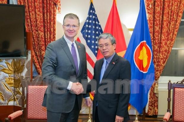 Nuevo embajador de EE.UU. en Vietnam afirma que trabajara para consolidar nexos bilaterales hinh anh 1