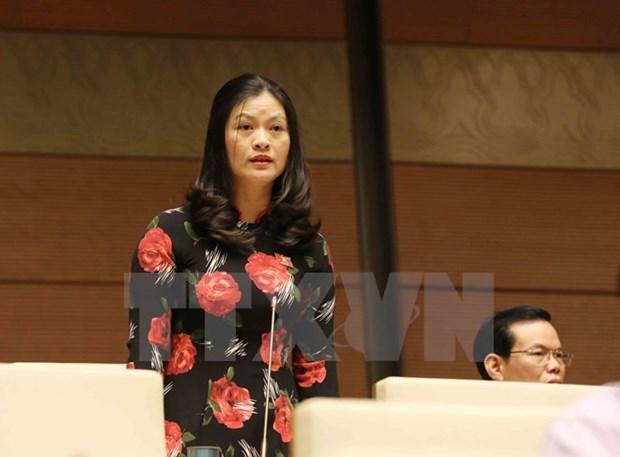 Diputados vietnamitas debaten la lucha anticorrupcion hinh anh 1