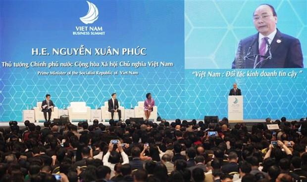 APEC 2017: Inician Cumbre Empresarial de Vietnam hinh anh 1