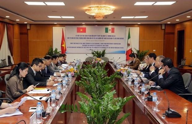 Vietnam y Mexico estudian perspectivas de cooperacion en economia hinh anh 1