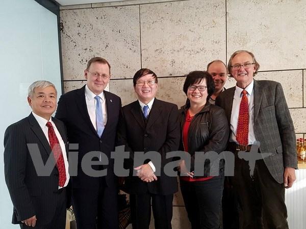 Estado aleman de Turingia aspira a reforzar cooperacion economica con Vietnam hinh anh 1