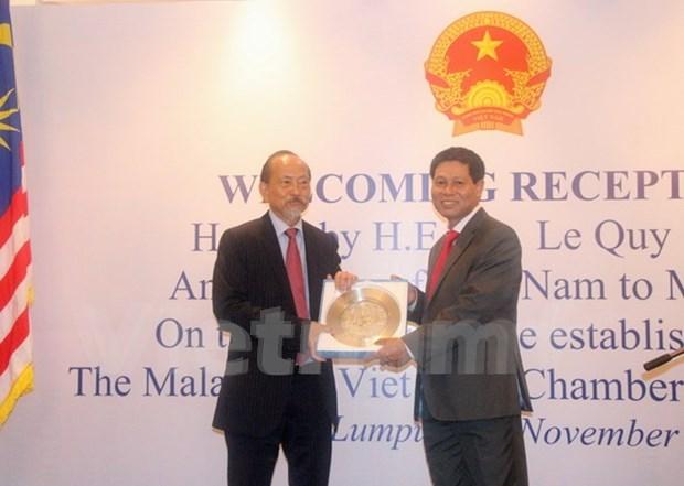 Vietnam y Malasia buscan impulsar la cooperacion economica hinh anh 1