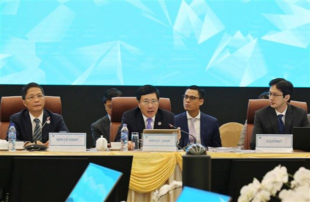 Inauguran en Vietnam XXIX Reunion Ministerial del APEC hinh anh 1