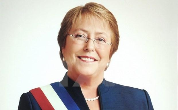 Inicia presidenta de Chile visita estatal a Vietnam hinh anh 1