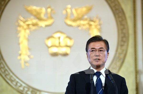 Presidente de Sudcorea inicia gira por Sudeste Asiatico hinh anh 1