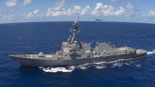 Brunei y EE.UU. realizan ejercicio maritimo conjunto CARAT hinh anh 1