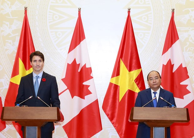 Vietnam y Canada acuerdan impulsar cooperacion multifacetica hinh anh 1