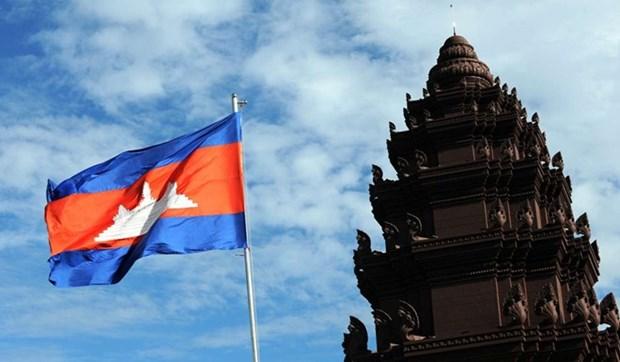 Dirigentes vietnamitas felicitan a Camboya por Dia de la Independencia hinh anh 1