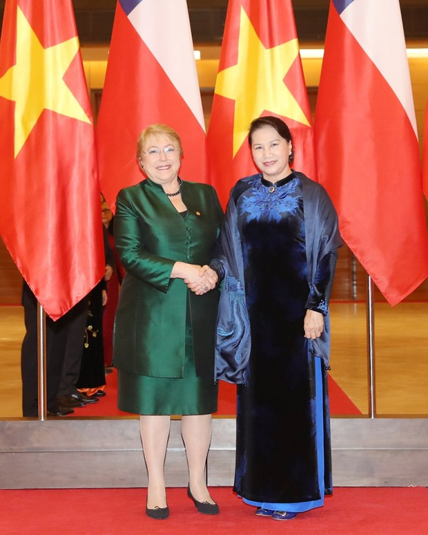 Vietnam aspira a fortalecer nexos interparlamentarios con Chile hinh anh 1