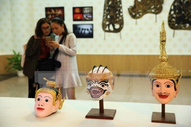 Exposicion en Vietnam resalta cultura de Camboya hinh anh 1