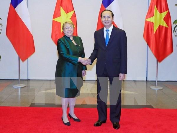 Vietnam y Chile reiteran la voluntad de consolidar nexos bilaterales hinh anh 1