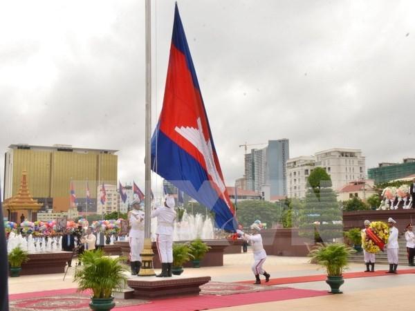 Camboya celebra aniversario 64 del Dia de la Independencia hinh anh 1