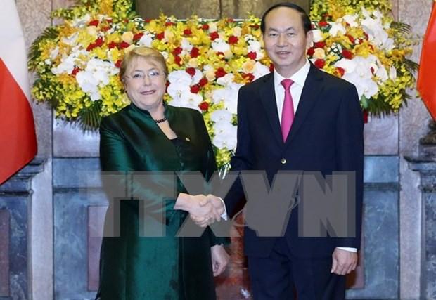 Vietnam y Chile trazan orientaciones para futura cooperacion multisectorial hinh anh 1