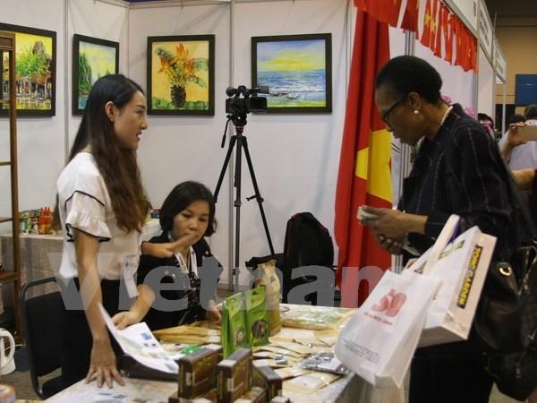 Empresas vietnamitas presentan sus productos en Feria comercial ASEAN-Africa hinh anh 1